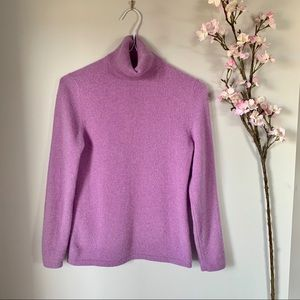 LORD & TAYLOR / 100% CASHMERE SWEATER
